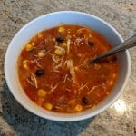 April 2020 — Chicken Tortilla Soup