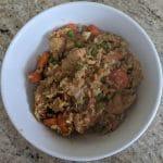 October 2020 — Teriyaki Chicken Fried Rice