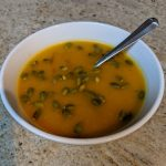 February 2021 — Butternut Squash Soup